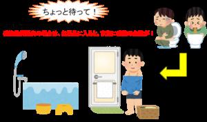 胃腸炎 風呂